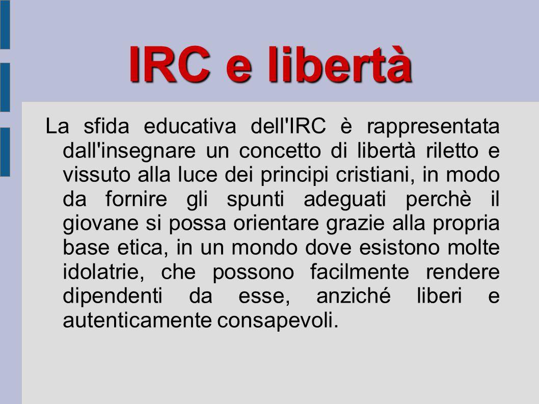 IRC e libertà