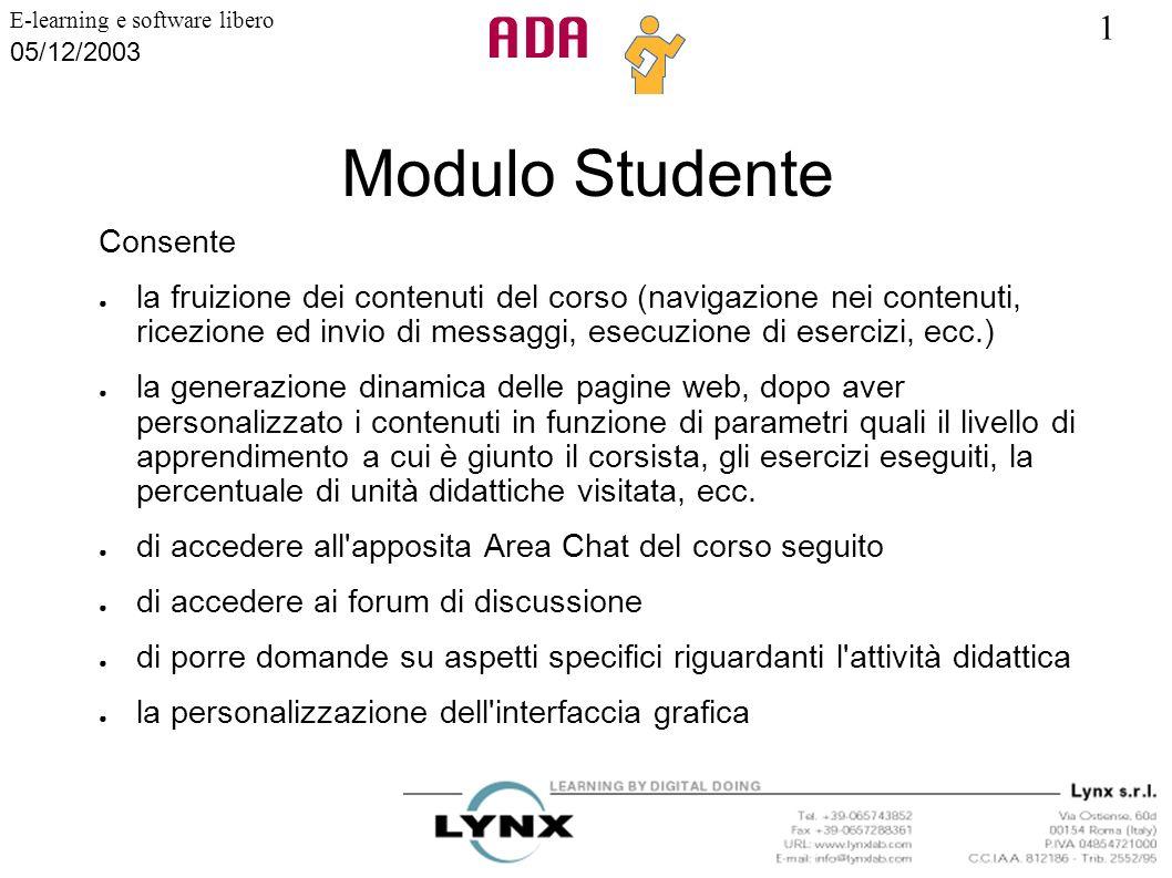 Modulo Studente Consente
