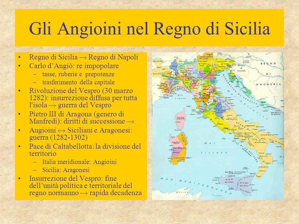 Gli Angioini nel Regno di Sicilia