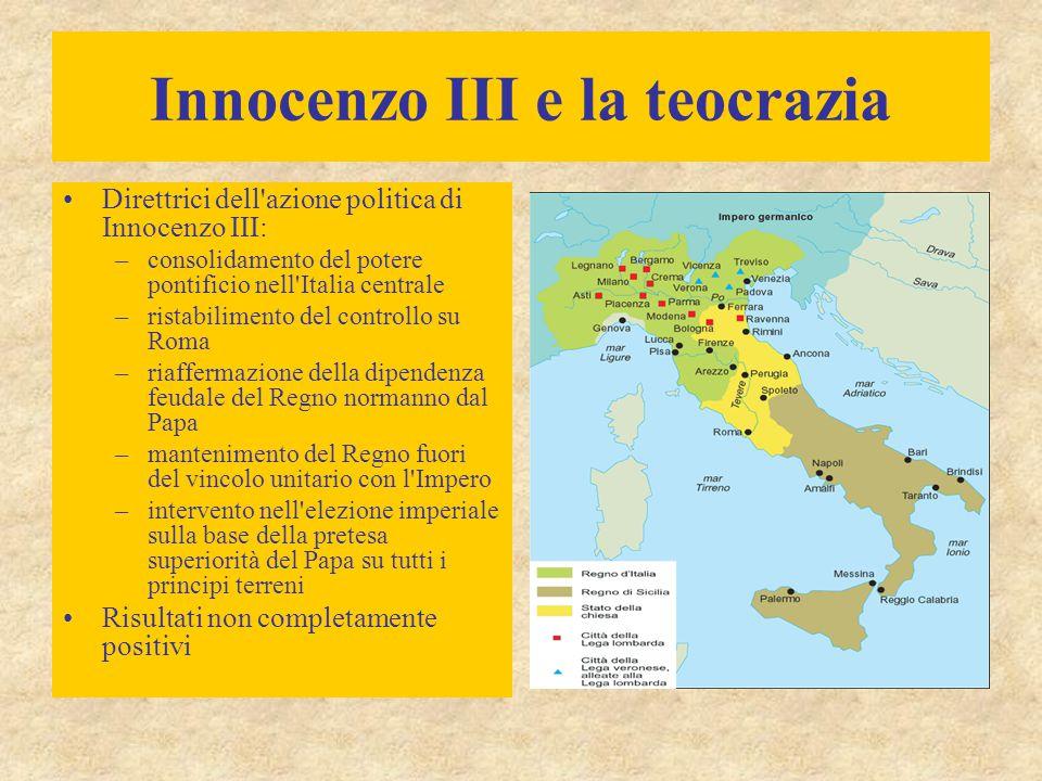 Innocenzo III e la teocrazia