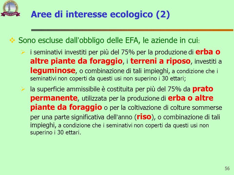 Aree di interesse ecologico (2)