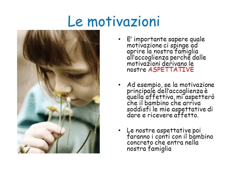 Le motivazioni