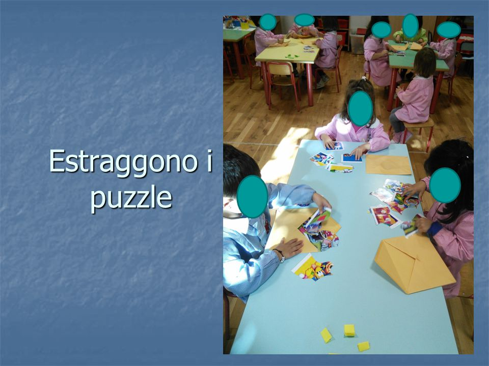 Estraggono i puzzle