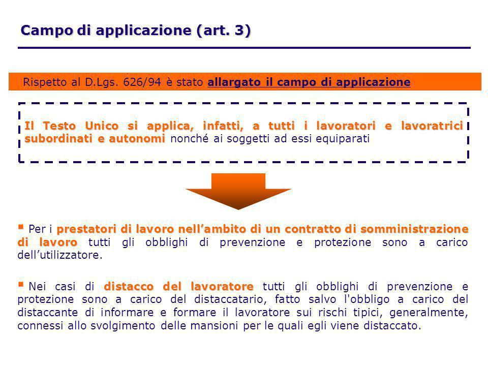 Campo di applicazione (art. 3)