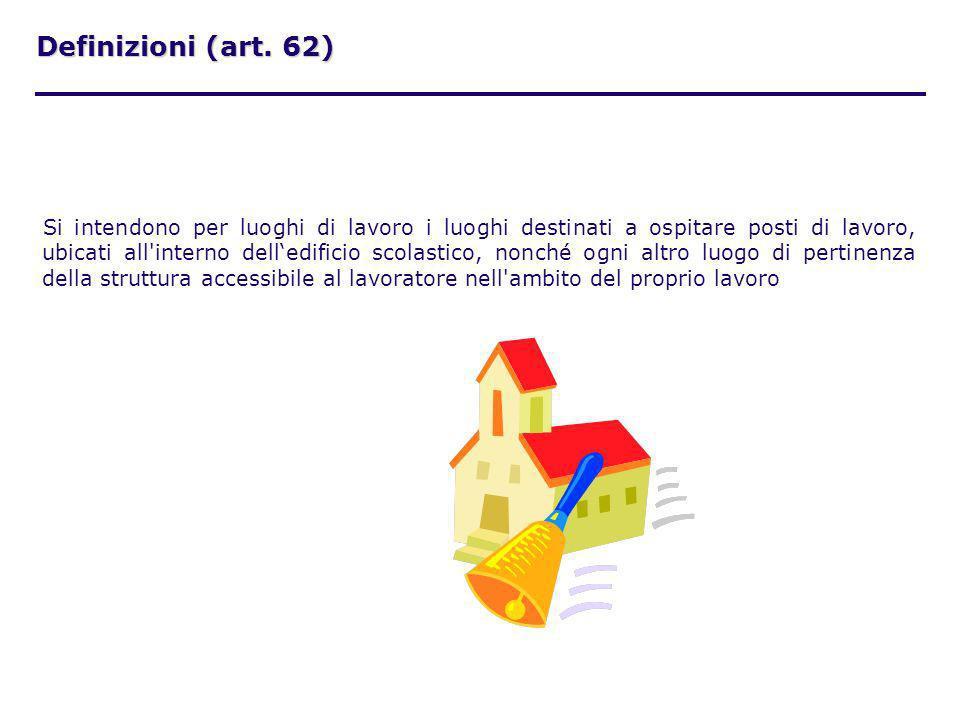Definizioni (art. 62)