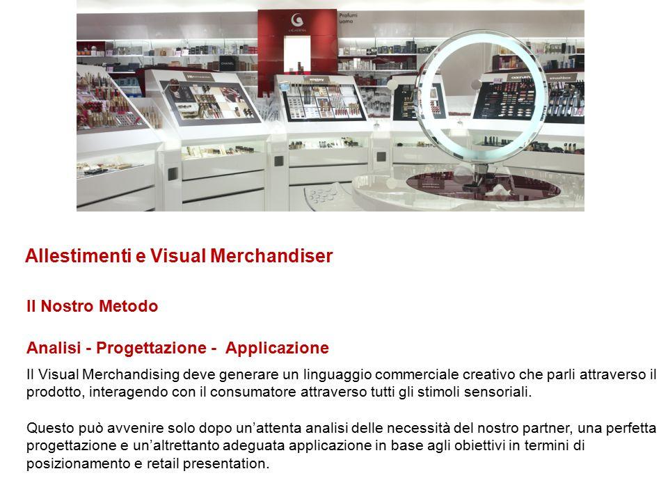 Allestimenti e Visual Merchandiser