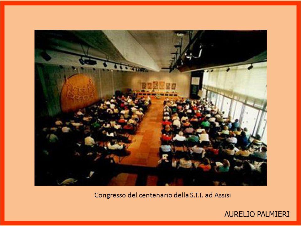 Congresso del centenario della S.T.I. ad Assisi