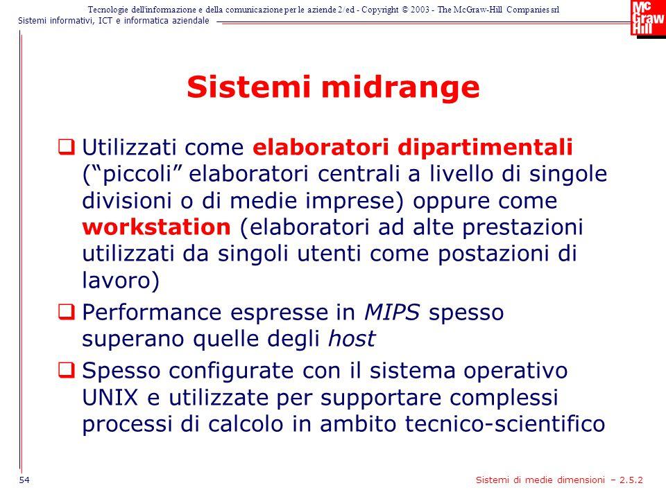 Sistemi midrange
