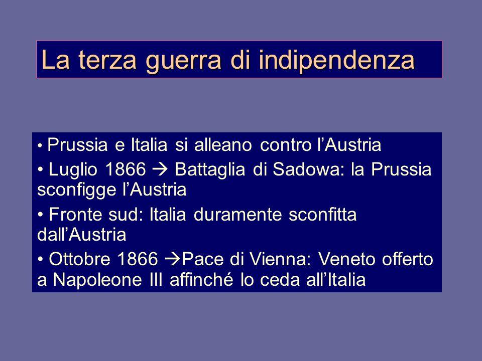La terza guerra di indipendenza