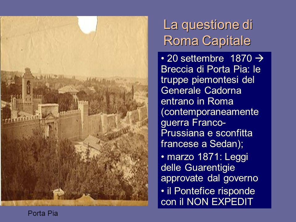 La questione di Roma Capitale