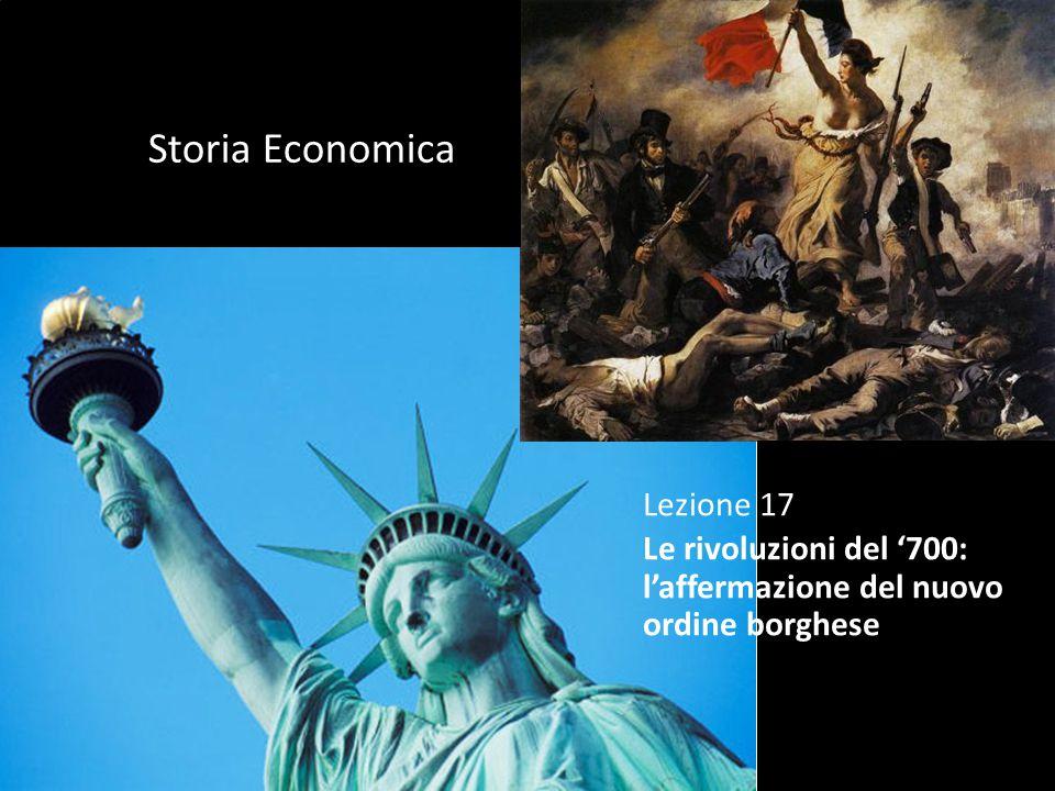 Storia Economica Lezione 17