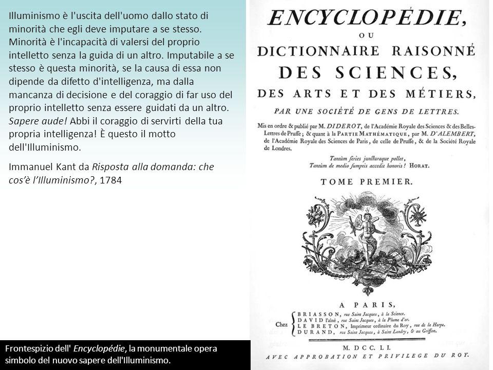 Immanuel Kant da Risposta alla domanda: che cos'è l'Illuminismo , 1784