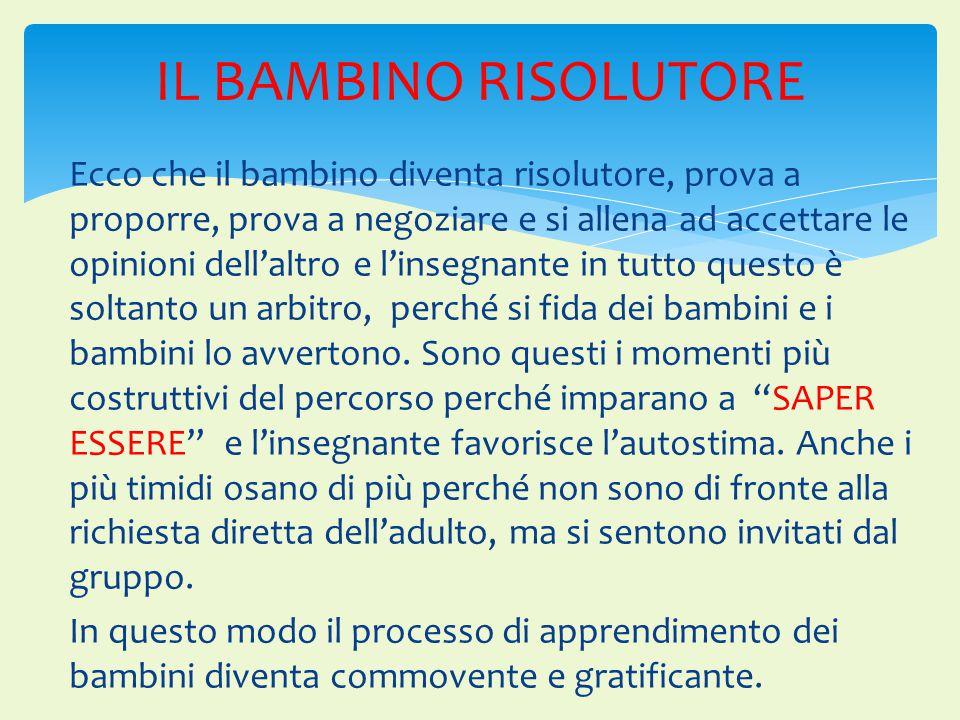 IL BAMBINO RISOLUTORE