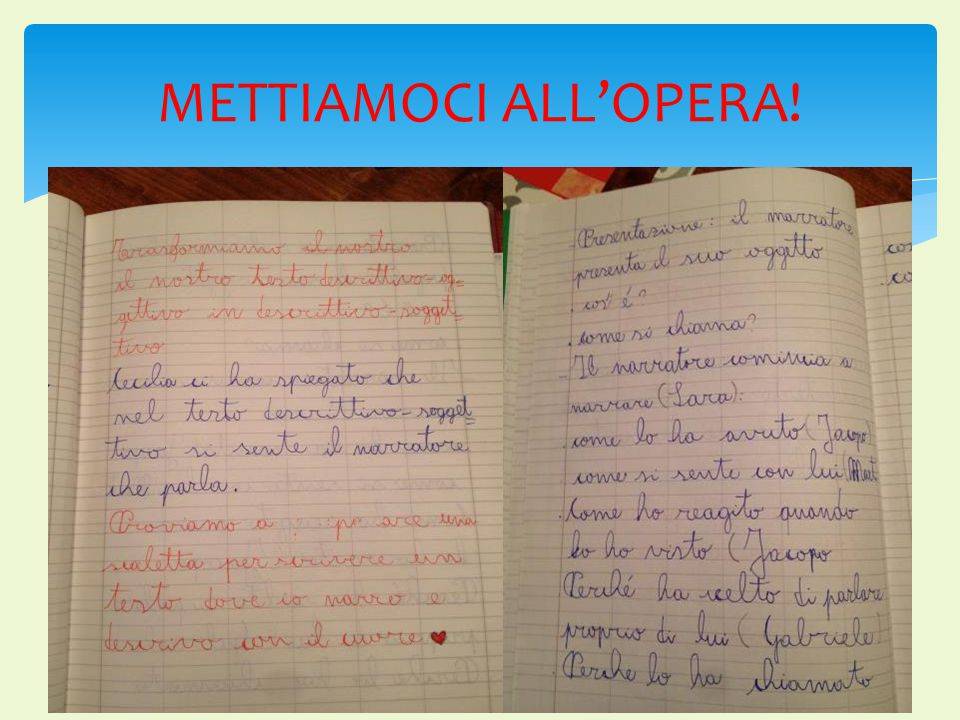 METTIAMOCI ALL'OPERA!