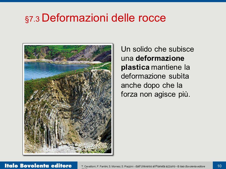 §7.3 Deformazioni delle rocce