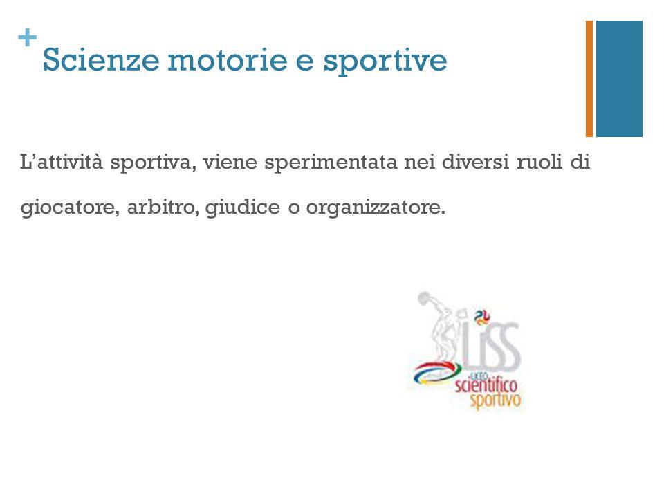 Scienze motorie e sportive