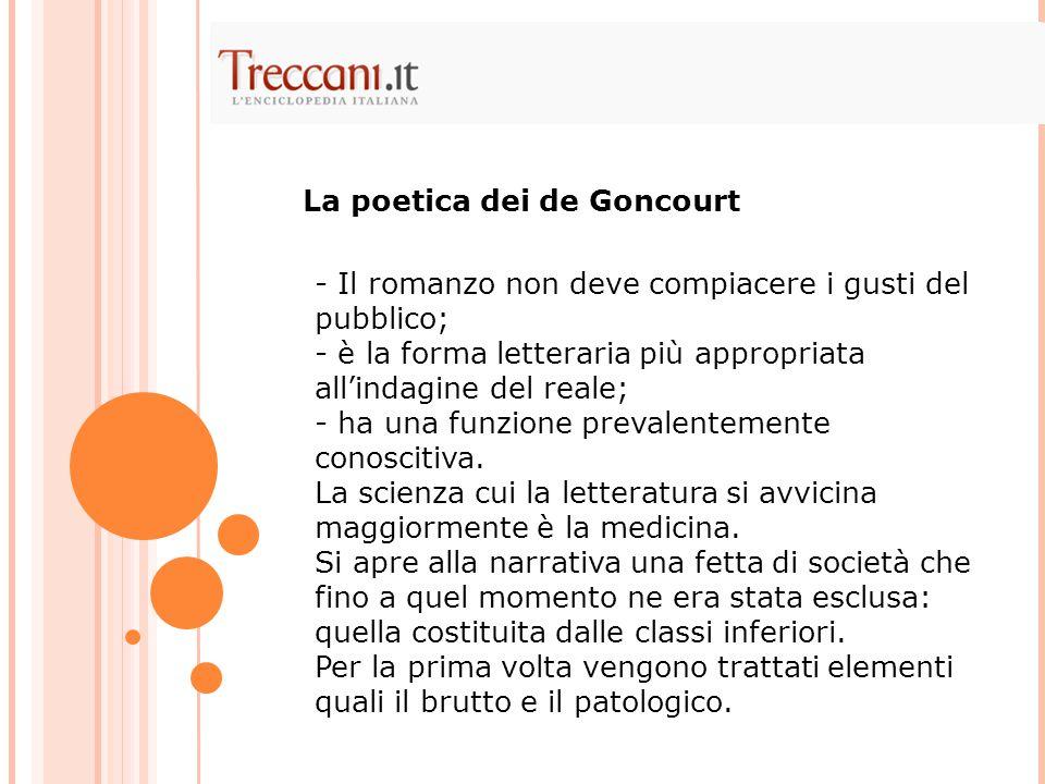 La poetica dei de Goncourt