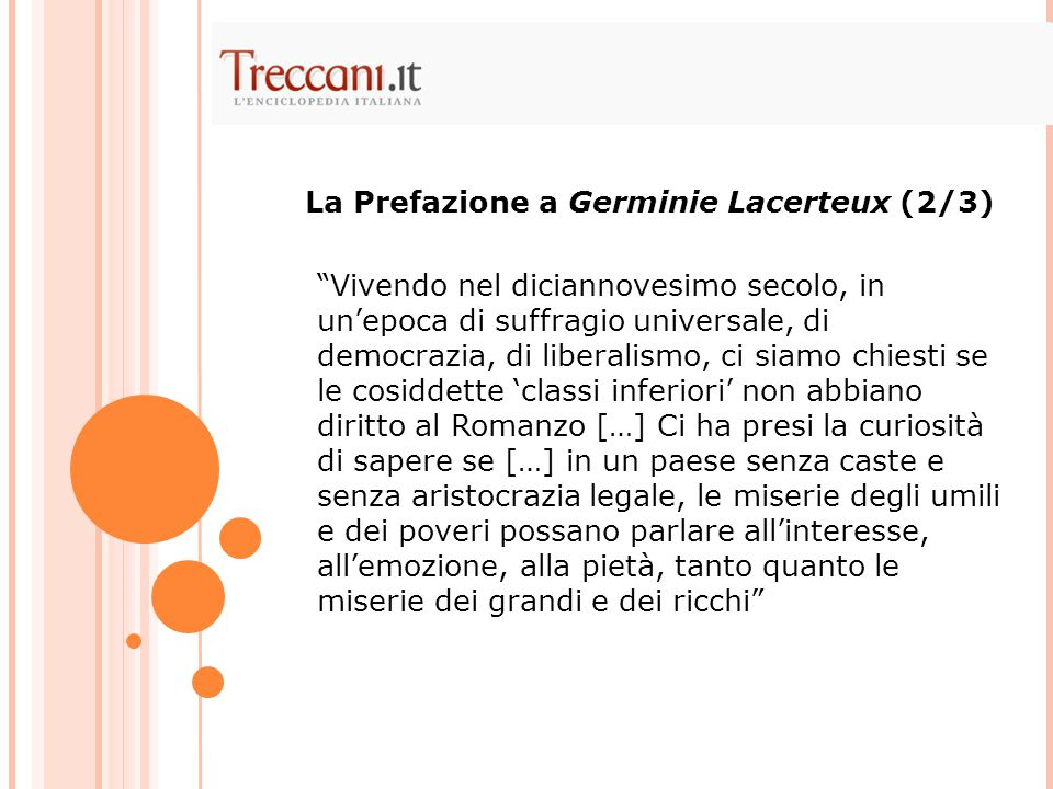 La Prefazione a Germinie Lacerteux (2/3)