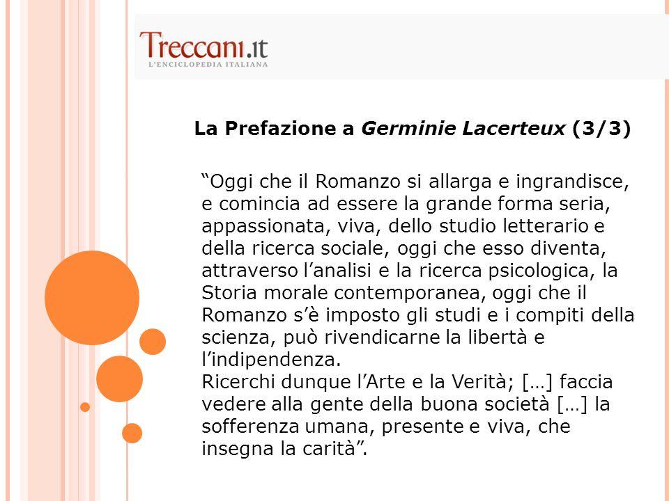 La Prefazione a Germinie Lacerteux (3/3)