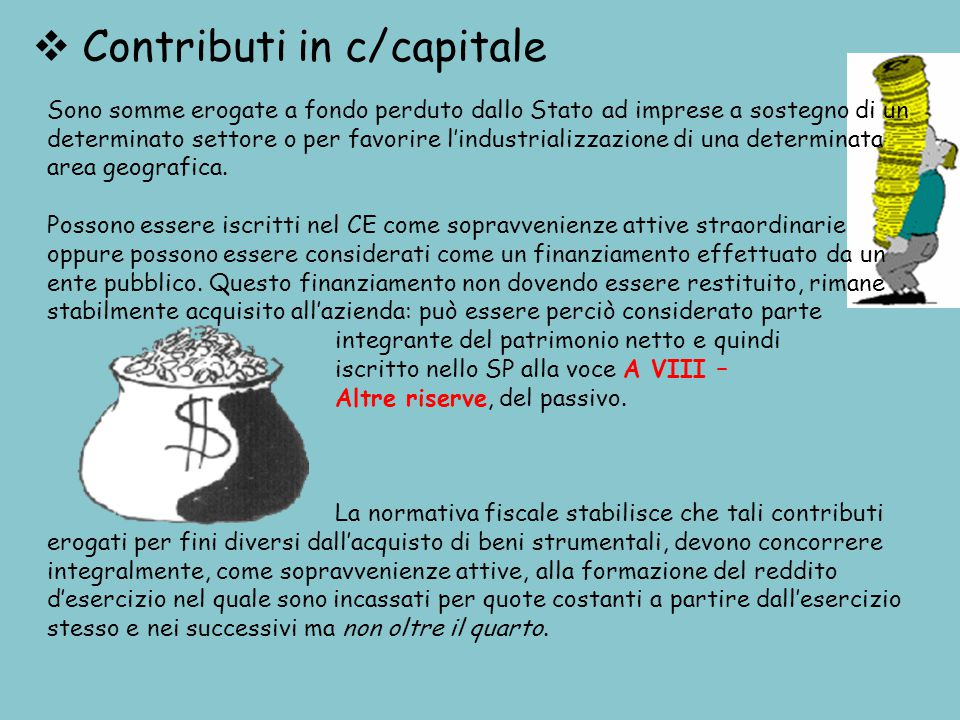 Contributi in c/capitale