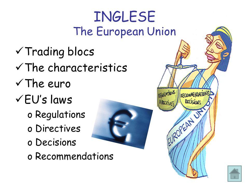 INGLESE The European Union