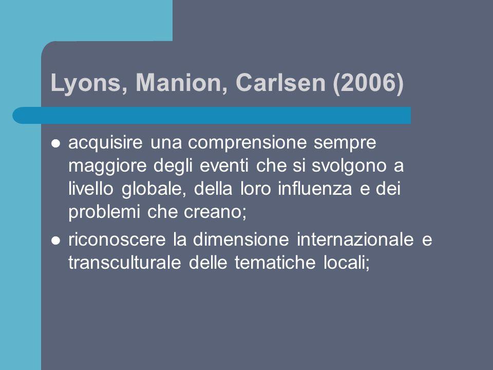 Lyons, Manion, Carlsen (2006)