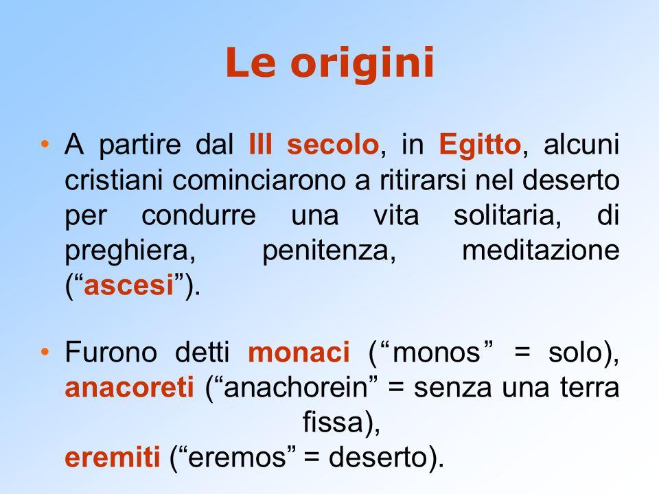 Le origini