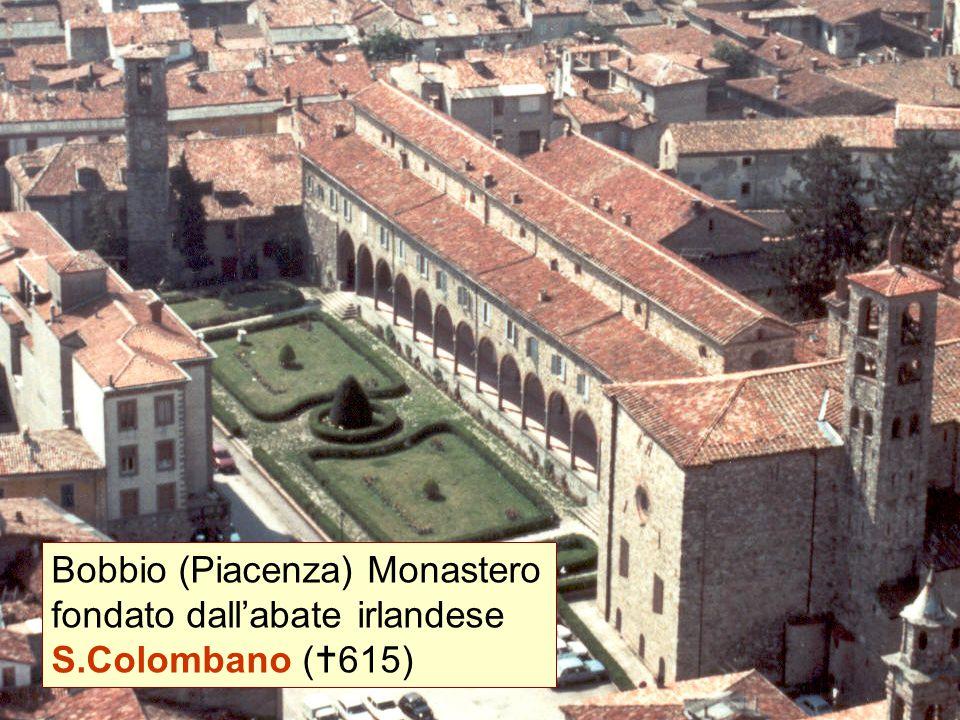Bobbio (Piacenza) Monastero fondato dall'abate irlandese S