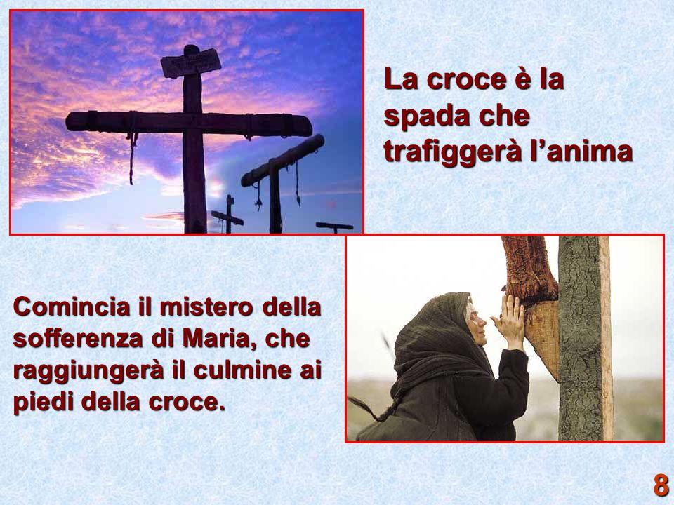 La croce è la spada che trafiggerà l'anima