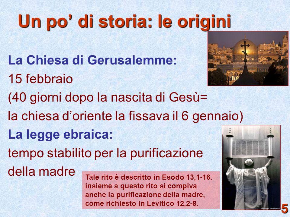 Un po' di storia: le origini