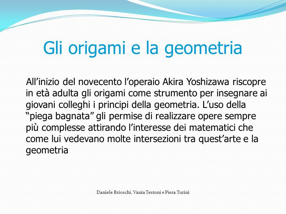 Gli origami e la geometria