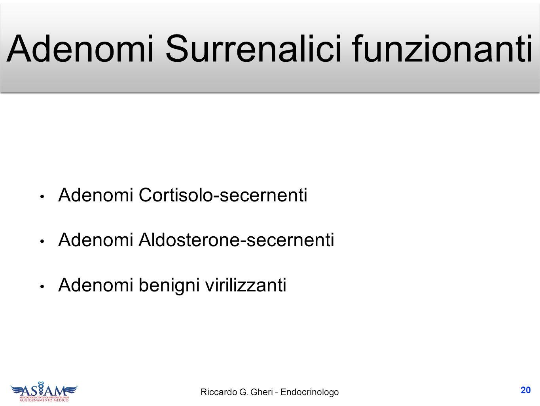 Adenomi Surrenalici funzionanti