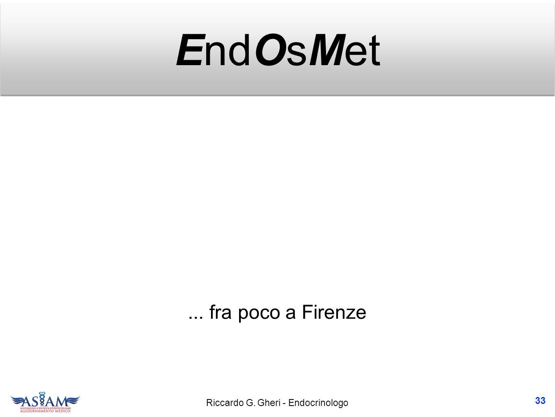 EndOsMet ... fra poco a Firenze 33