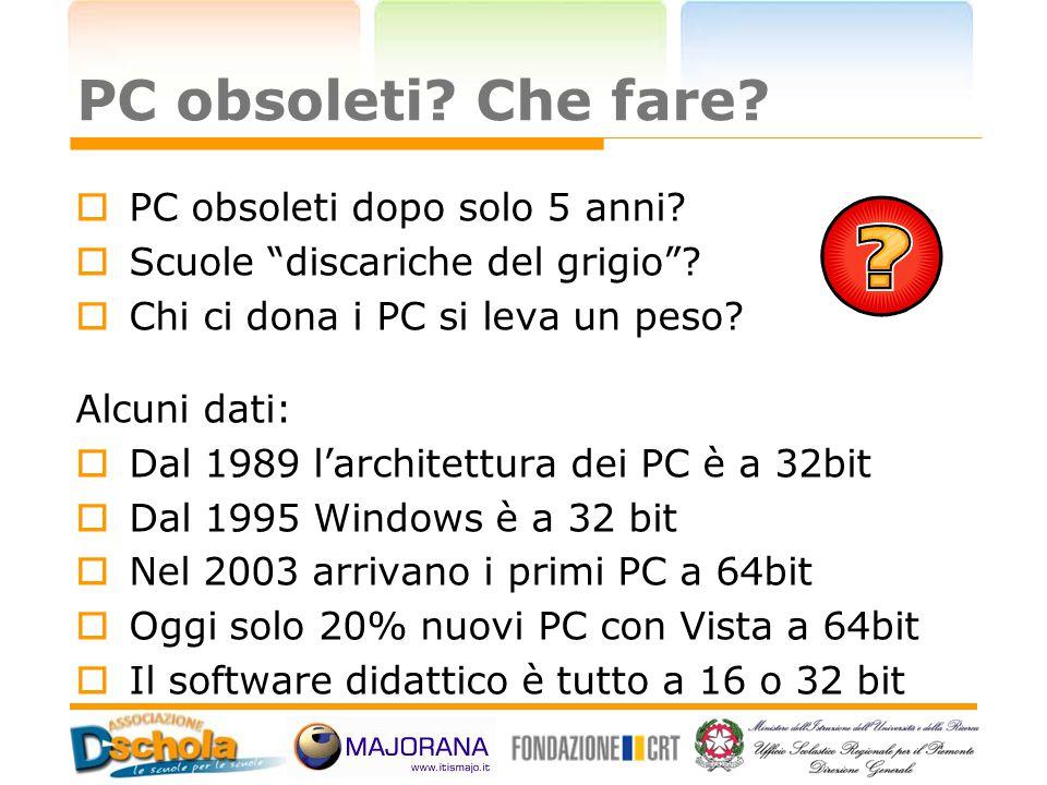 PC obsoleti Che fare PC obsoleti dopo solo 5 anni