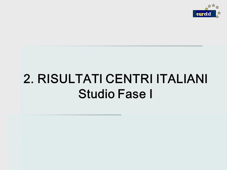 2. RISULTATI CENTRI ITALIANI