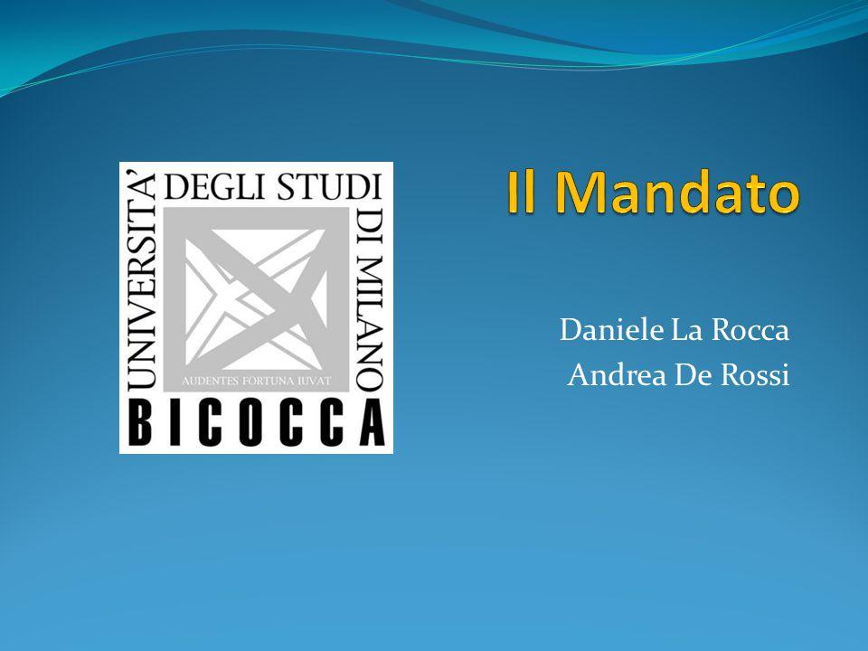 Daniele La Rocca Andrea De Rossi