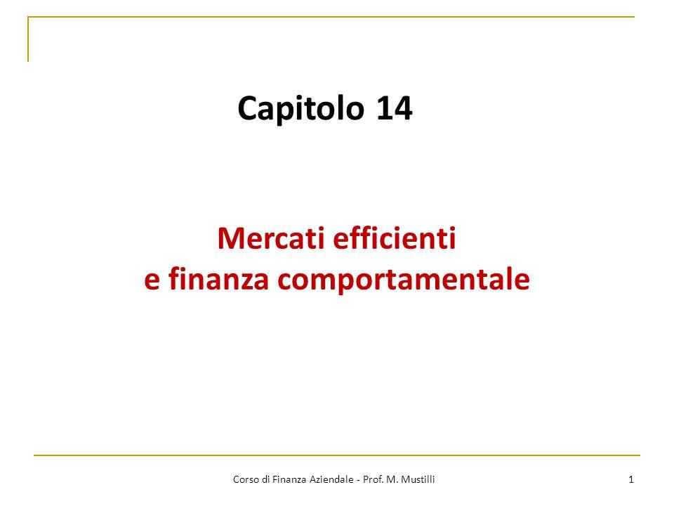 e finanza comportamentale