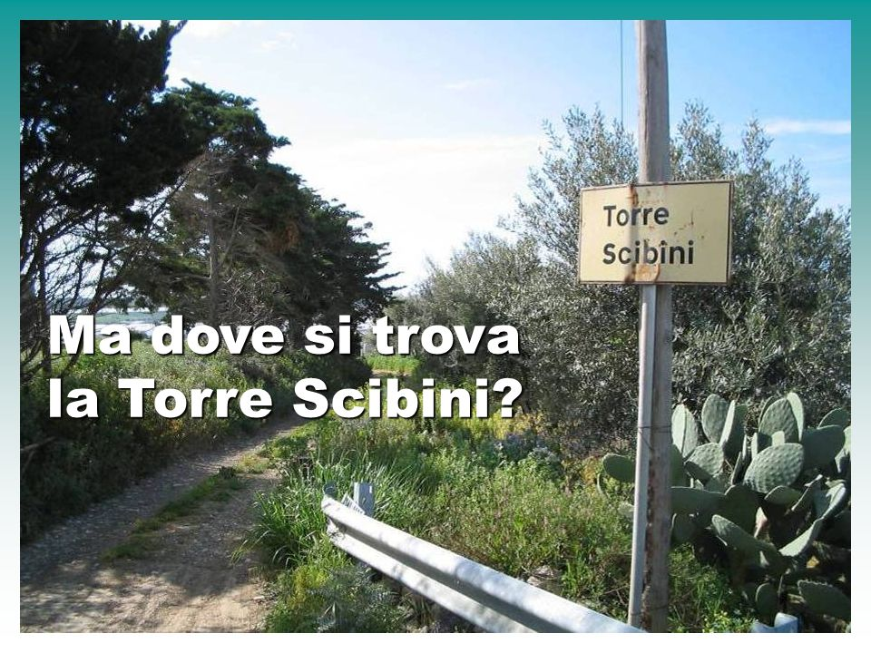 Ma dove si trova la Torre Scibini
