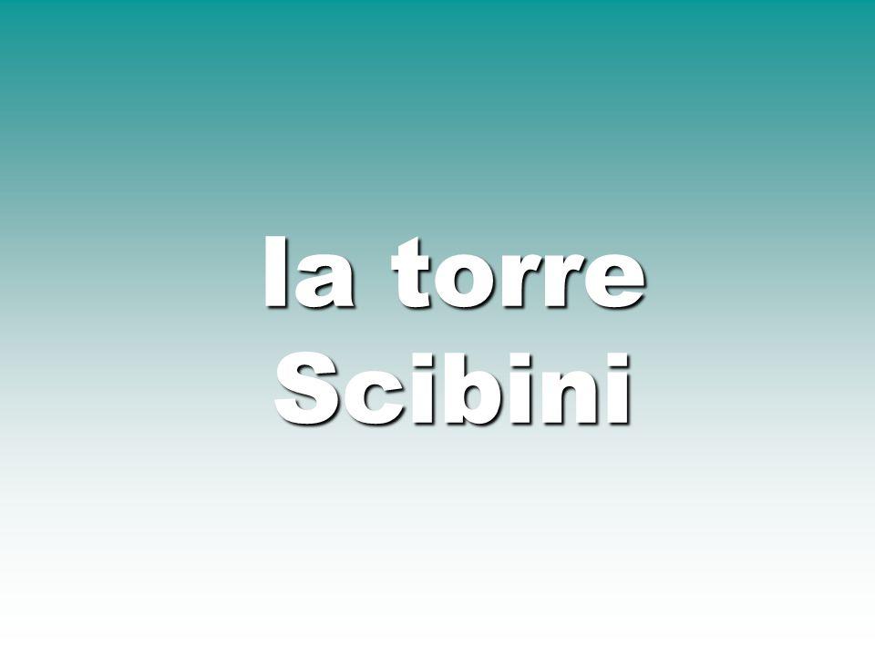 la torre Scibini