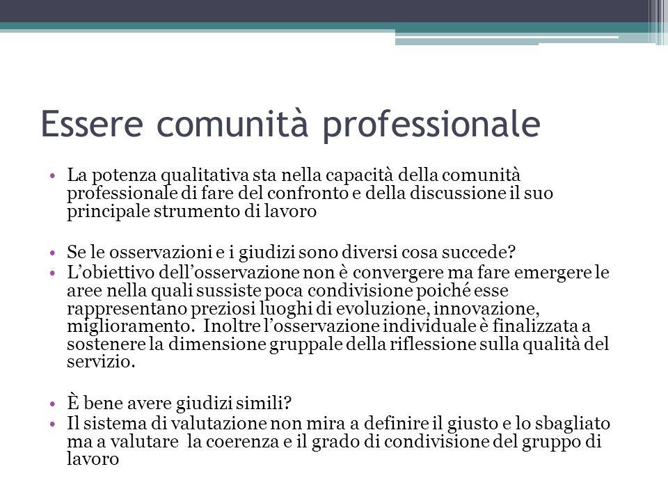 Essere comunità professionale