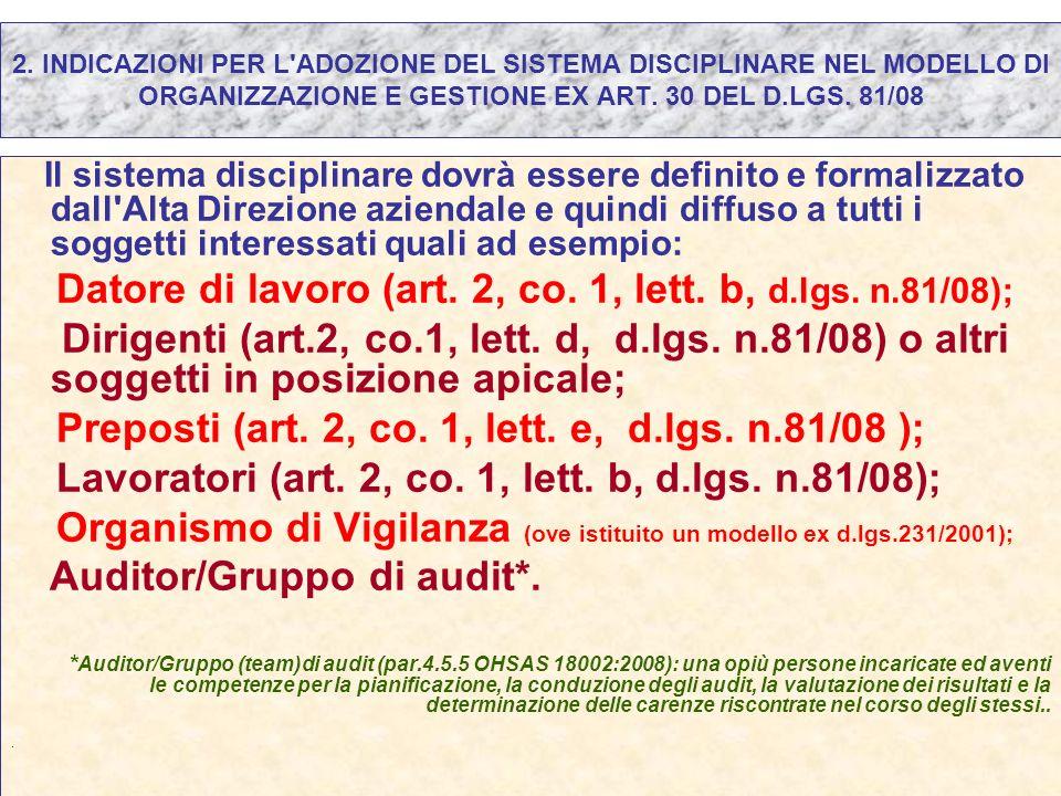 Datore di lavoro (art. 2, co. 1, lett. b, d.lgs. n.81/08);