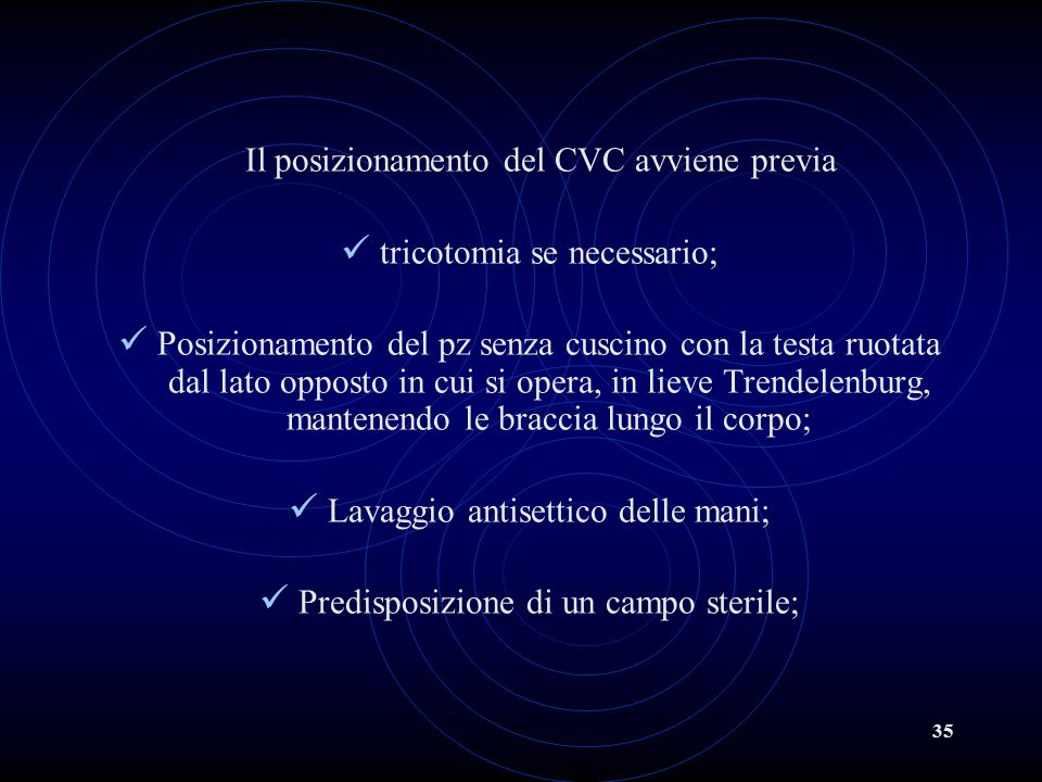 tricotomia se necessario;
