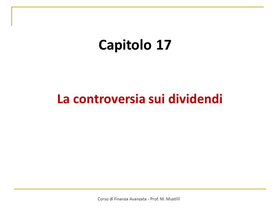 La controversia sui dividendi