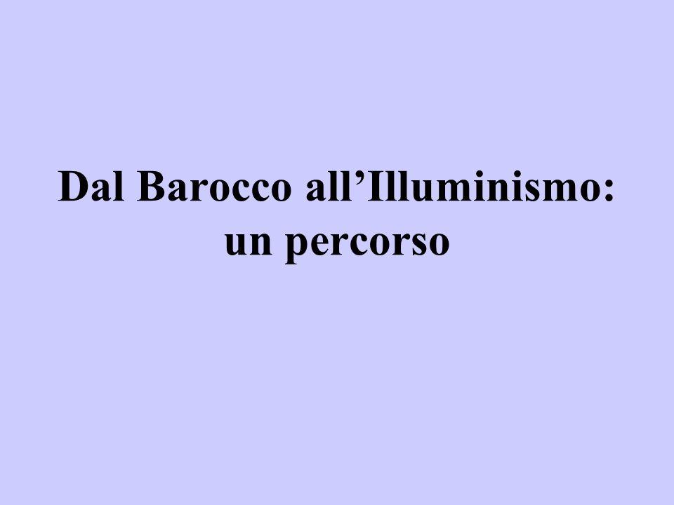 Dal Barocco all'Illuminismo: un percorso