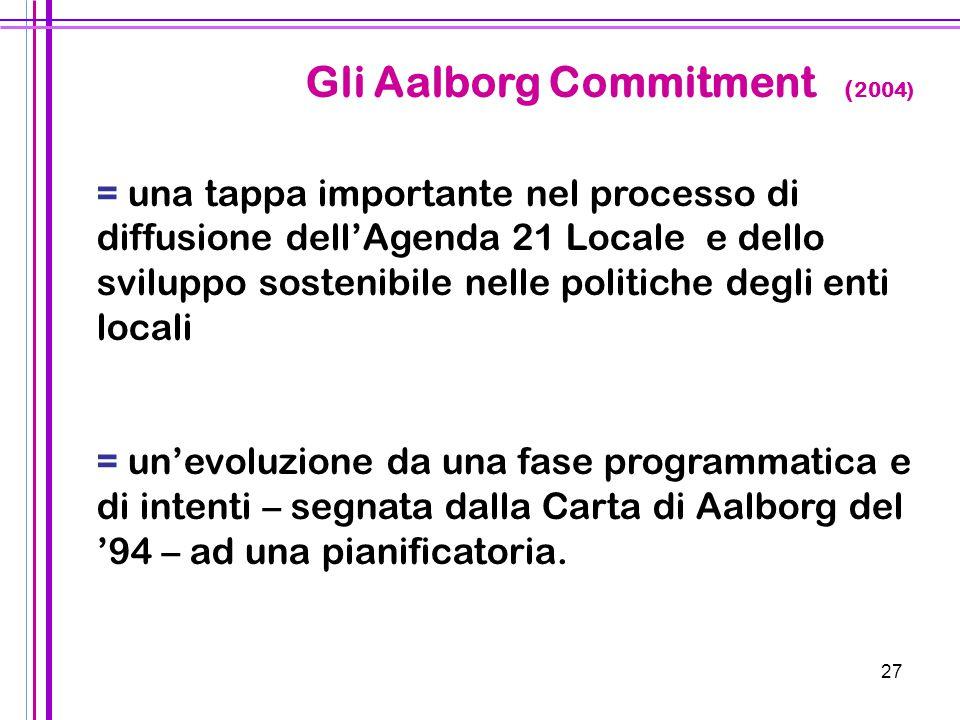 Gli Aalborg Commitment (2004)