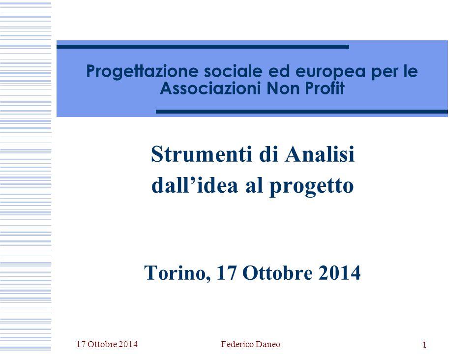 Progettazione sociale ed europea per le Associazioni Non Profit