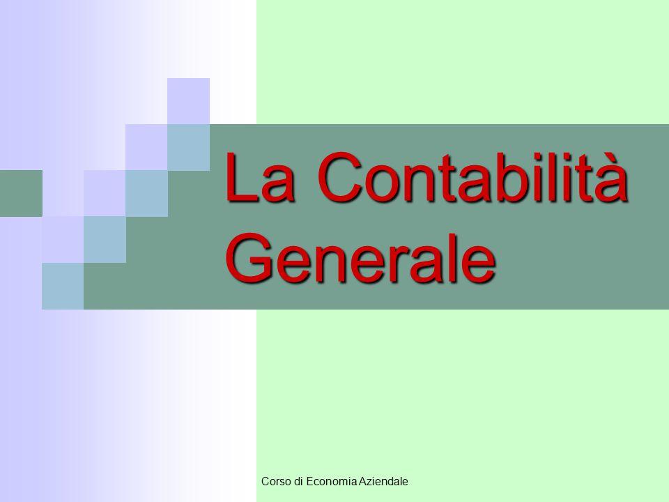 La Contabilità Generale