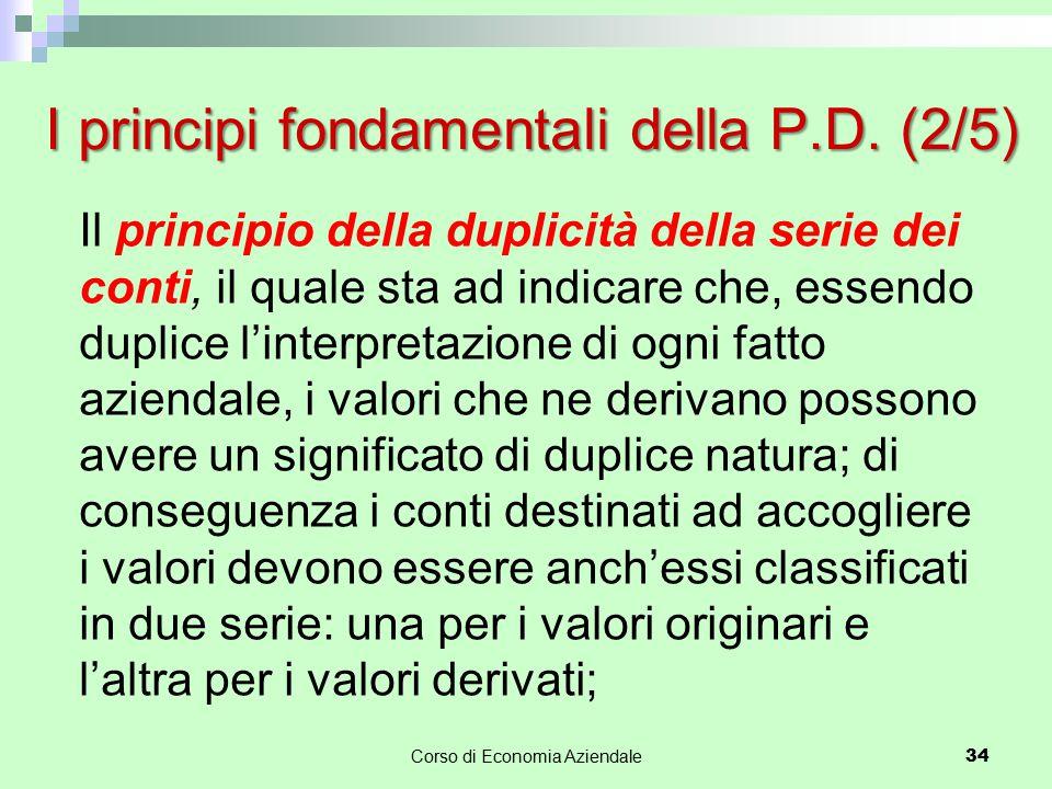 I principi fondamentali della P.D. (2/5)