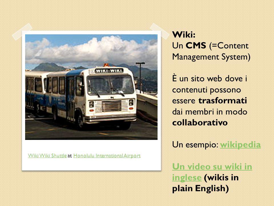 Un CMS (=Content Management System)
