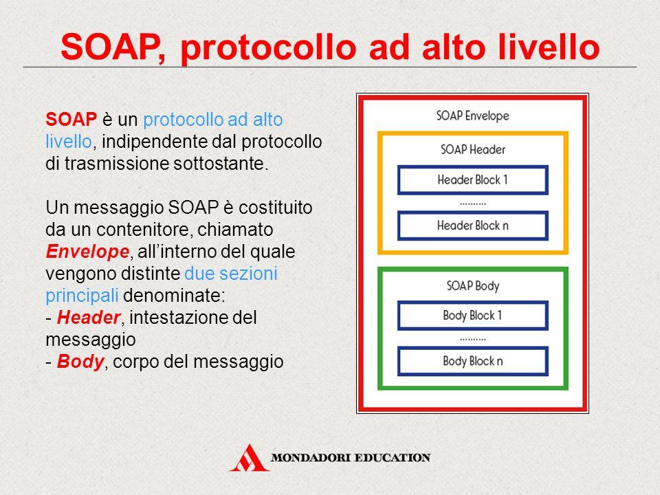 SOAP, protocollo ad alto livello